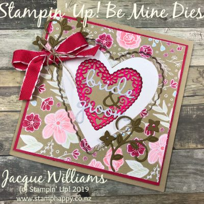 All My Love Window Card – Tutorial Available