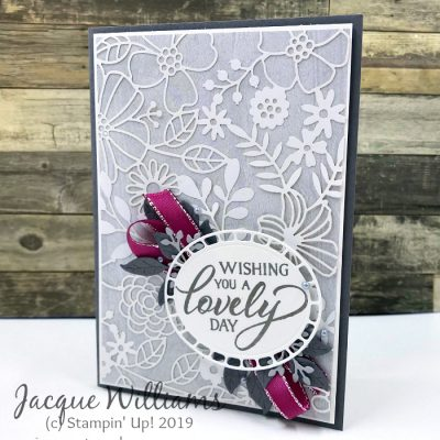 Quick Wedding Card with Delightfully Detailed Laser Cut Paper