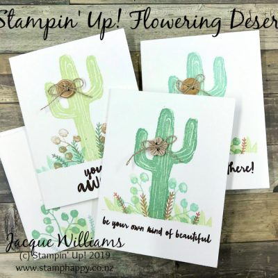 Flowering Desert Quick Notecards