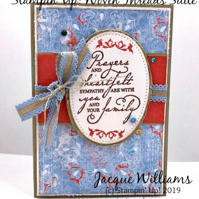 Woven Threads Suite Vintage Card