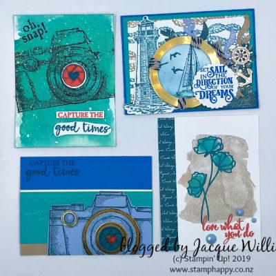 Memories and More Cards – South Pacific Swap