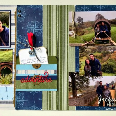 August All Stars Team Blog Hop – Come Sail Away Masculine Double Layout