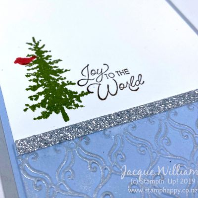 Snow Front Easel Card – Full Step-by-Step Tutorial Available