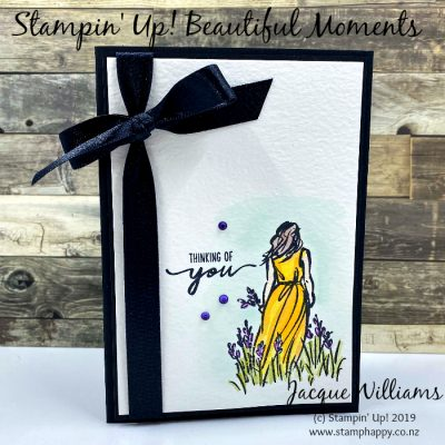 Beautiful Moments Sympathy Card in Watercolor