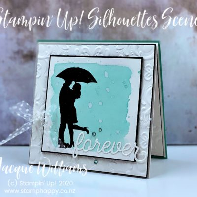 Wedding Card with Silhouette Scenes – Video Tutorial!