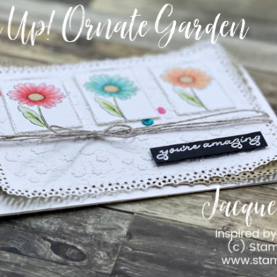 Ornate Style with Stampin' Blends Card – Video Tutorial