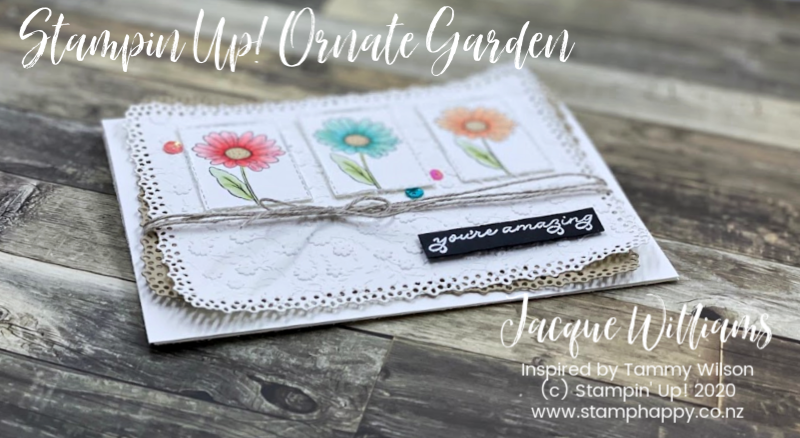 ornate garden stampin up stampin blends alcohol markers quick easy card make and take ornate layers happy easter