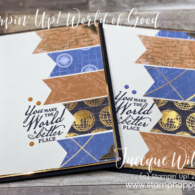 Easy Masculine Card – Using Small Pieces of Patterned Paper! Video Tutorial