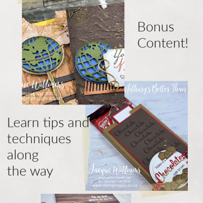 New! Masculine Cards and Project Online Class!