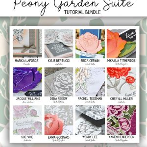 Peony Garden Suite Tutorial Bundle