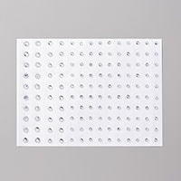 Cat Punch Card with Sponged Background