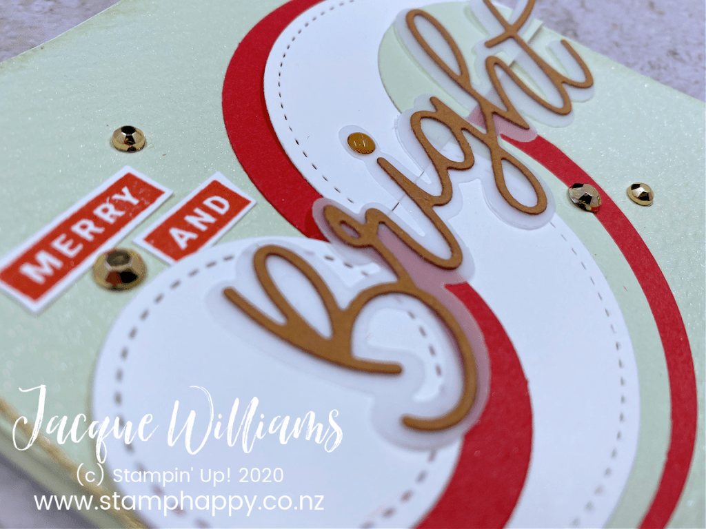 stampin up peace & joy card classes new zealand christmas card make your own cards video tutorial facebook live replay christmas card quick