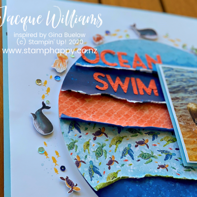 Beach Photos? Whale of a Time Double Page Scrapbooking Layout