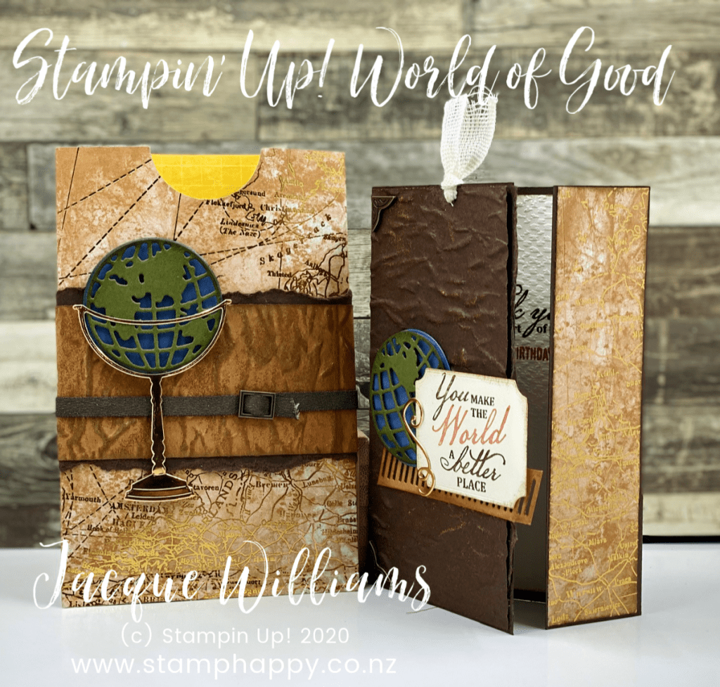stampin up world of good beautiful world masculine card class online video tutorial guy cards birthday