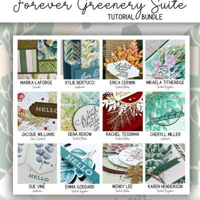 Forever Greenery Video Tutorial Collection Now Available FREE with Purchase!