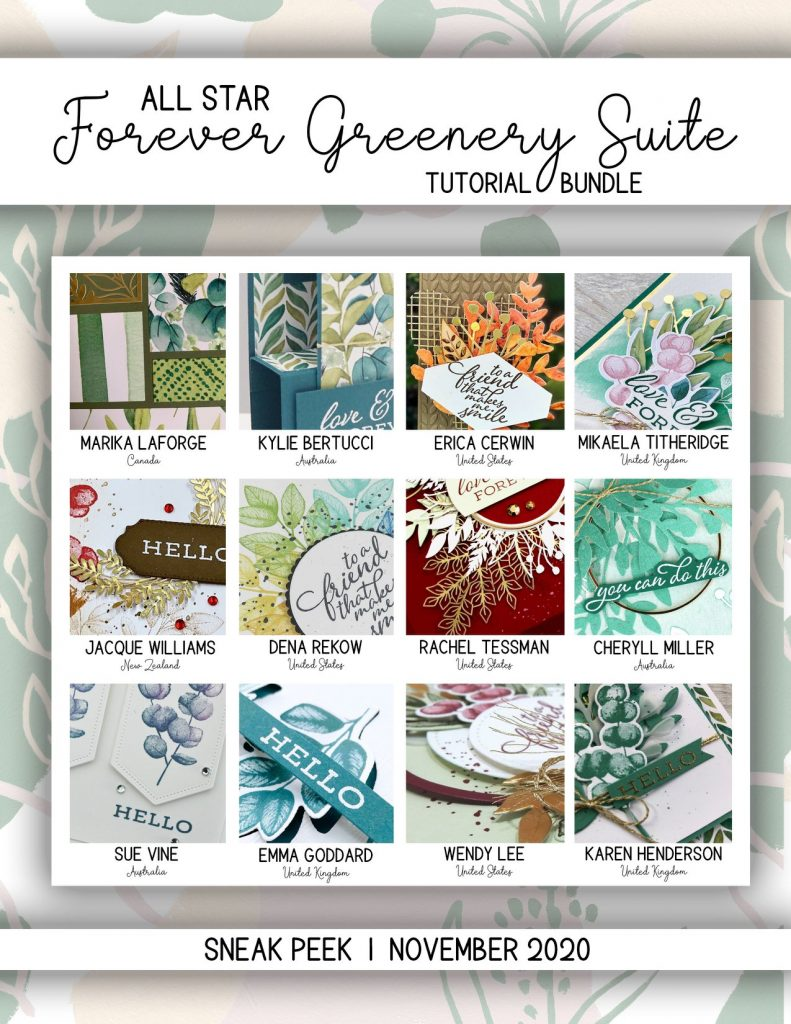 stampin up new zealand forever greenery fern kiwiana new zealand icon rubber stamp tutorials free