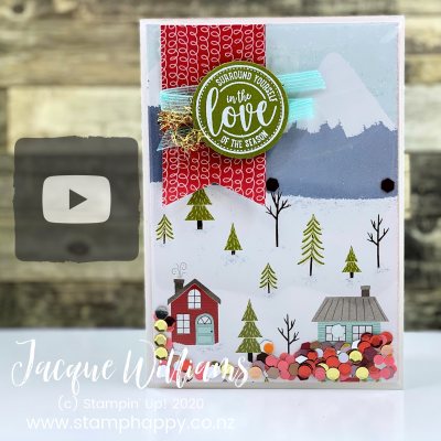 How To Make The Easiest Shaker Card in the World!  Video Tutorial