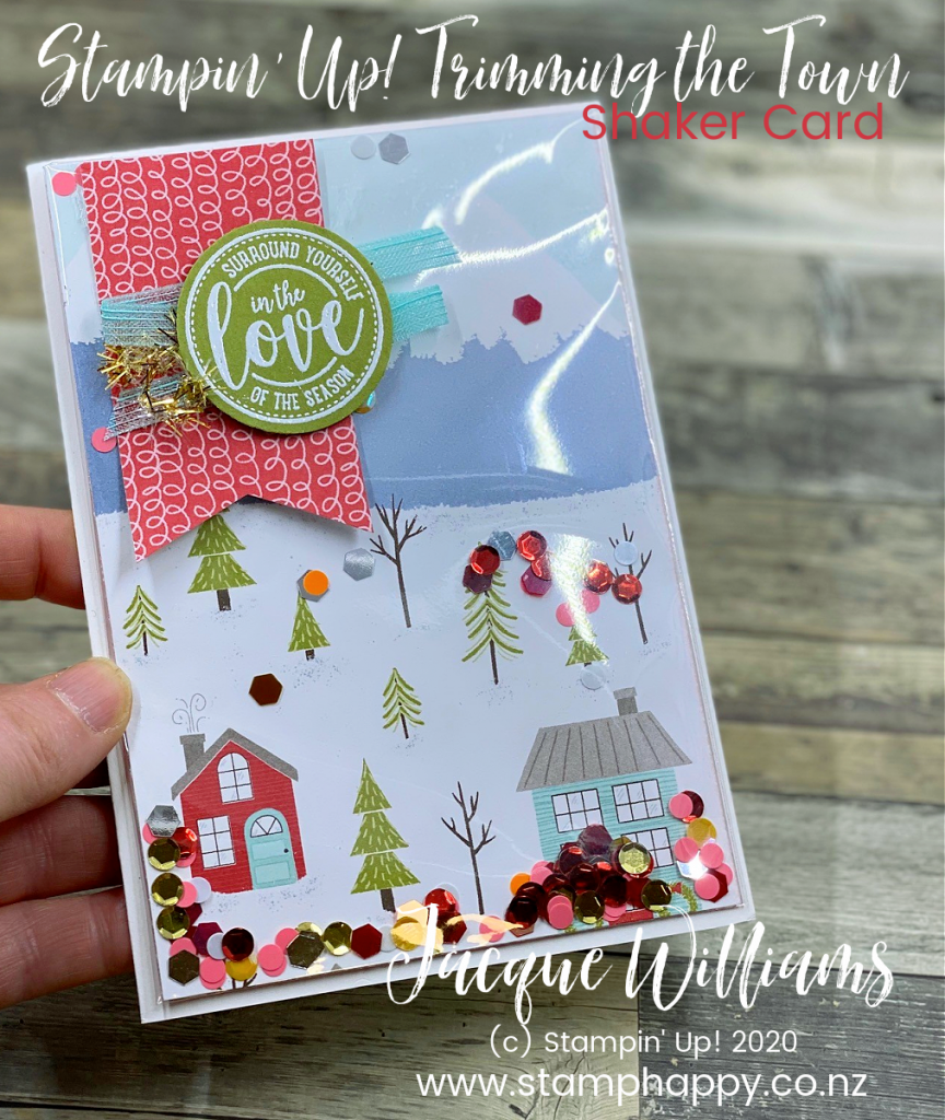 stampin up classes new zealand shaker card kids card how do I video tutorial