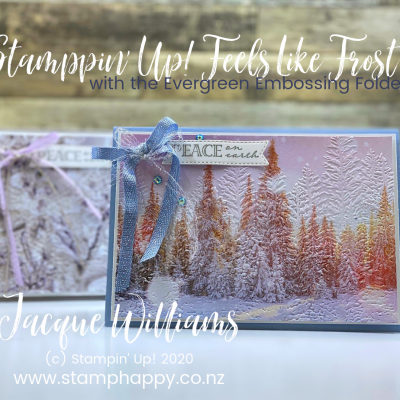Evergreen Forest Embossing: From Pretty to Stunning!