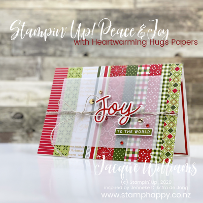 Heartwarming Hugs Happy Christmas Card – Kits Available