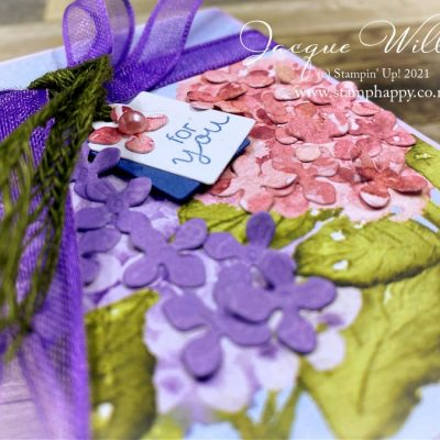 Gorgeous Treat Box with Hydrangea Hill Suite – Class in the Mail
