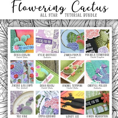Free with Purchase!  Flowering Cactus 12 Video Tutorial Collection!