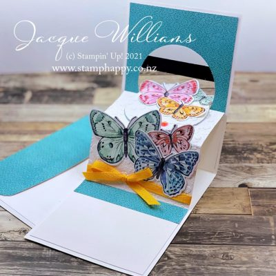 Butterfly Brilliance Pop Up Card