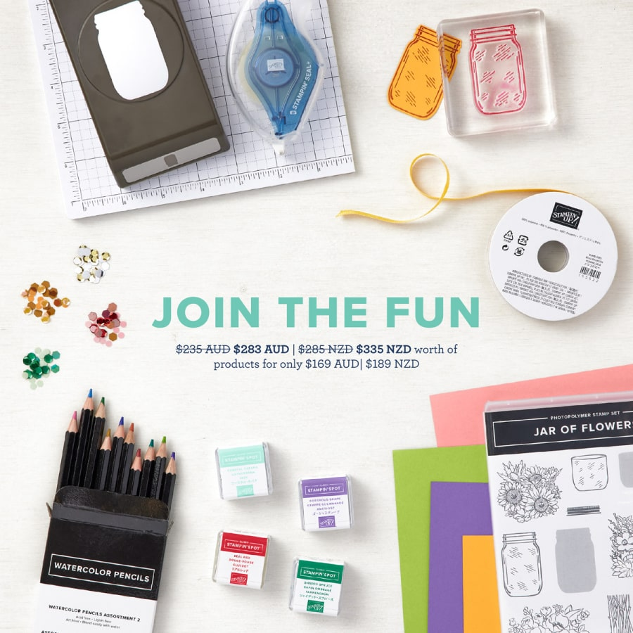 stampin up promotions sales discounts specials new zealand
