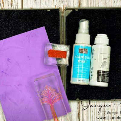 Tips and Tools for Cleaning Your Stamps!