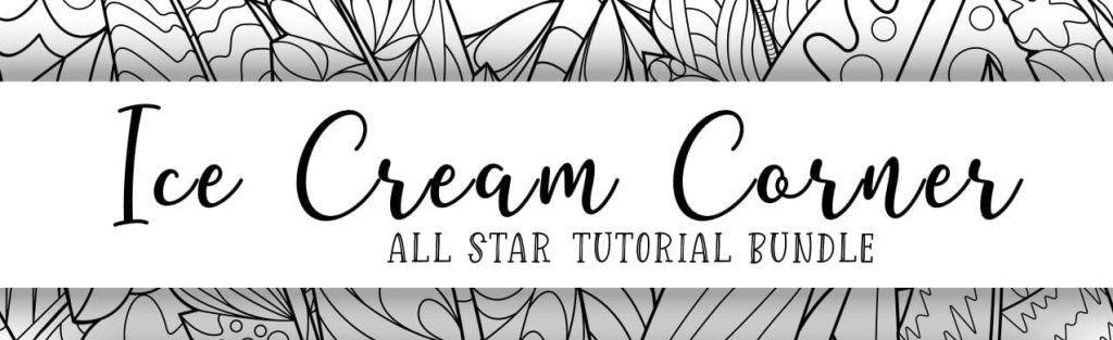 stampin up ice cream corner bundle suite tutorials project ideas quick easy birthday card