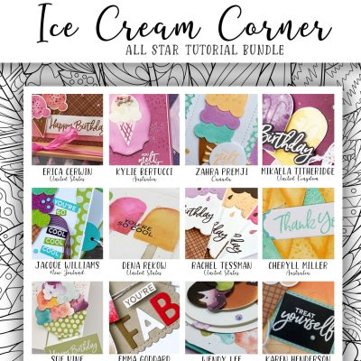 Ice Cream Corner Tutorial Collection Now Available!