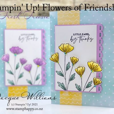 Meet Fresh Freesia!  With the New Flowers of Friendship Set