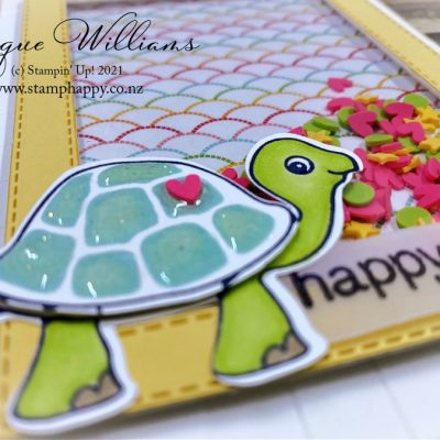 Turtle Friends Shaker Kids Card – Video Tutorial