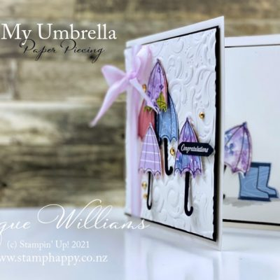 Under My Umbrella Meets Hydrangea Hill Papers