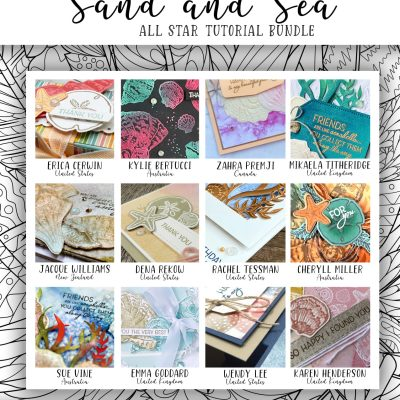FREE GIFT with purchase:  Sand & Sea 12 Video Tutorial Collection