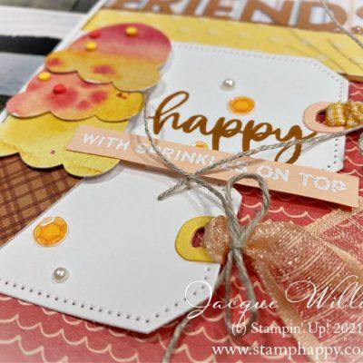Happy Ice Cream Corner Scrapbook Layout