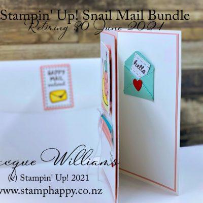 Snail Mail Quick & Easy Fun Card