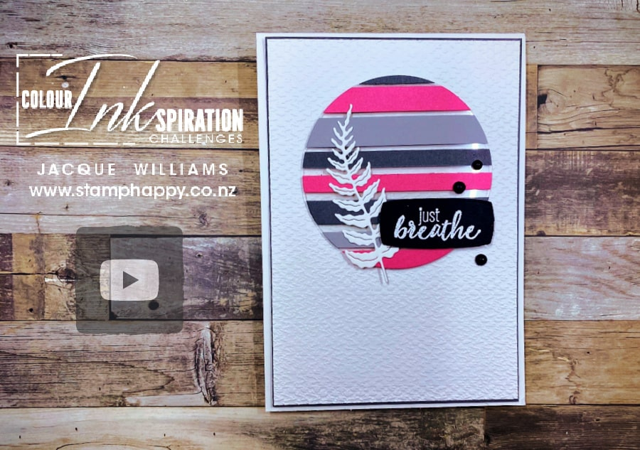 Learn the Floating Strip technique for your next card project!  Free video tutorial with Jacque Williams in New Zealand    www.stamphappy.co.nz