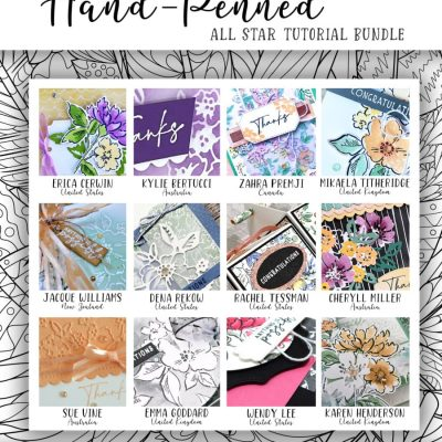 Hand Penned 12 Video Tutorial Collection – Free Gift with Purchase!
