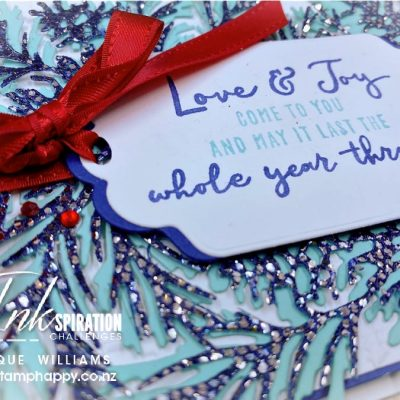 How to Color Glitter Paper – Featuring the Christmas to Remember Bundle