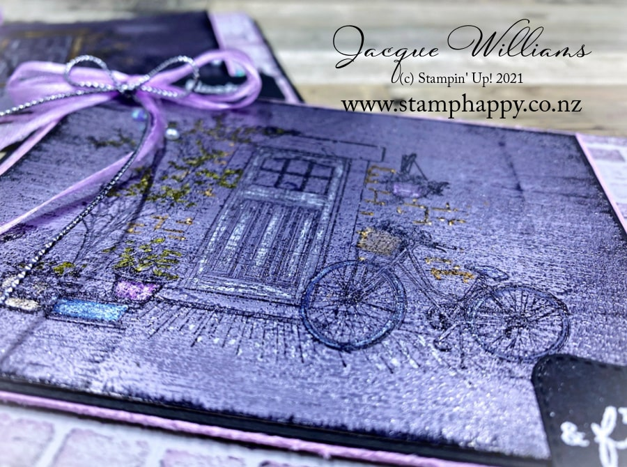Must Try Technique: Using Stampin' Blends on Foil!   The results may be surprising!   Free Video Tutorial with Jacque Williams