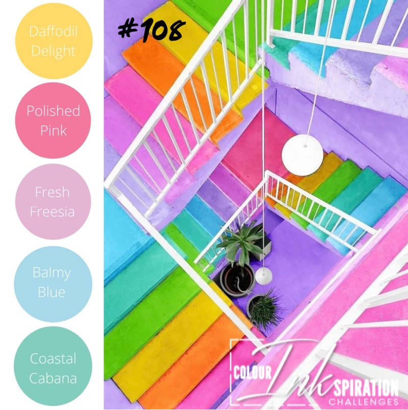 Stampin up color challenge and classes in New Zealand with Jacque Williams