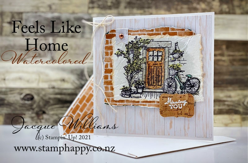 Missing You: Feels Like Home in Watercolor