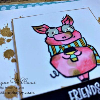 Create a Cute Muddy Pig! with Joyful Friends