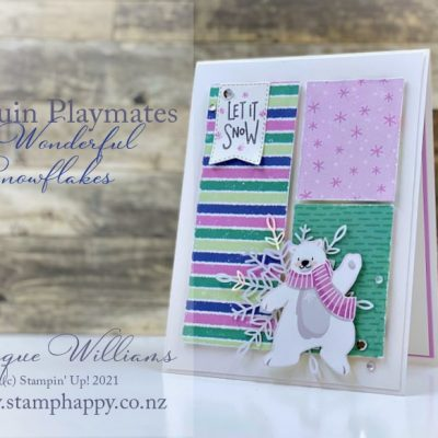 Quick & Easy Penguin Playmates Card