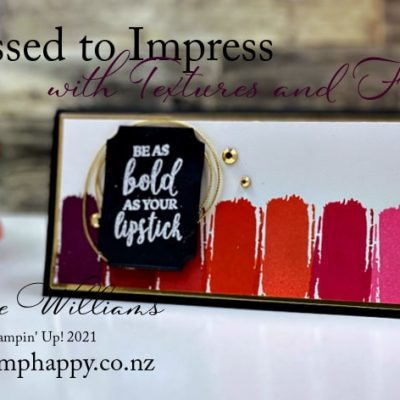 Easy Dressed to Impress Lipstick Case Card