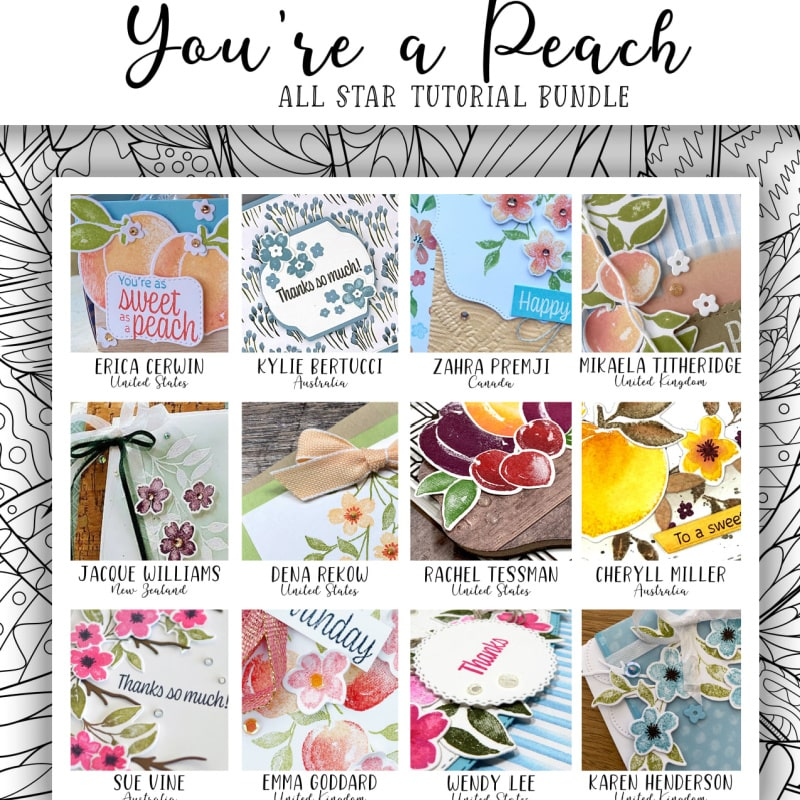 You're a Peach 12 Tutorial Collection Now Available!