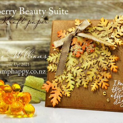 Beauty of Tomorrow Autumn Card – Video Tutorial