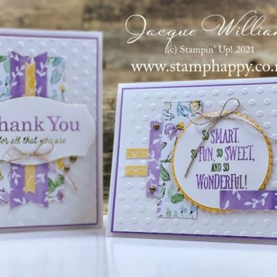 Easy World Cardmaking Day 6×6 One Sheet Wonder – Hand Penned Papers