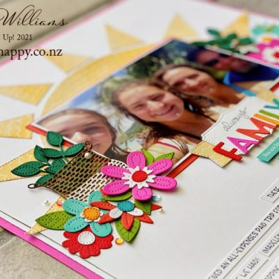 Tropical Scrapbooking Double Layout – Kits Available